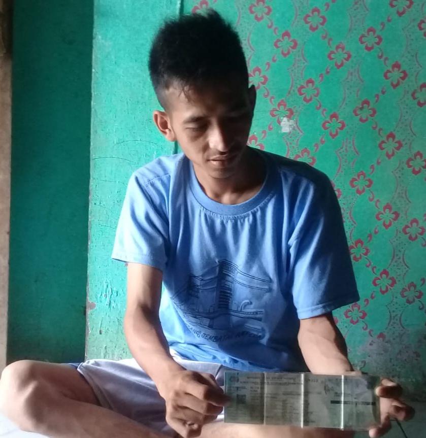 Pulang Kerja, M. Syarif Kena Begal Dekat Kantor PDAM Desa Lubuk Lancang