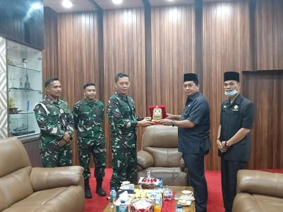 Banyuasin dengan TNI AL Harus Terus Bersinergi