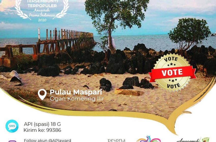 Maspari Pulau Mewah dengan Bentang Alam Perawan
