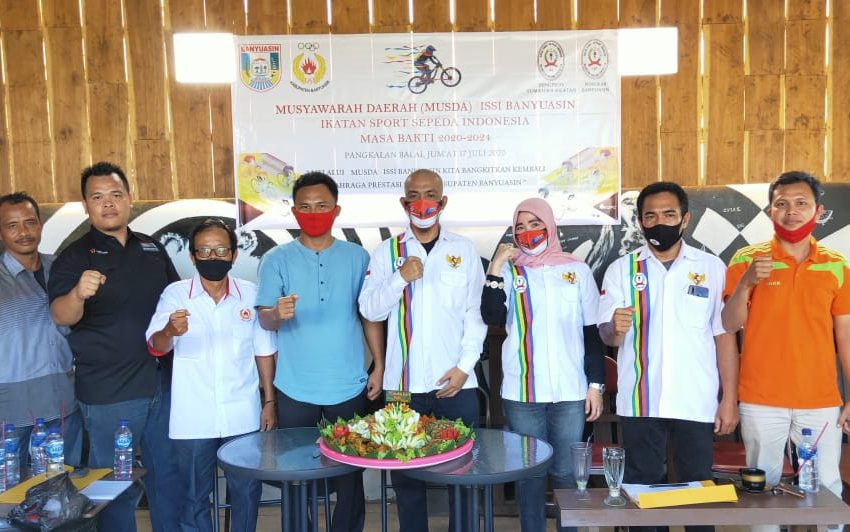 Azmi Chandra Terpilih Ketua Umun Pengcab ISSI Kabupaten Banyuasin