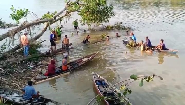 Hanyut Di Sungai Ogan,Bendi Belum Ditemukan