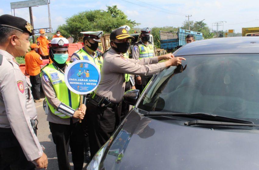 Polres Banyuasin dan Unsur Forkopimda Launching Kampanye Serentak Protokol Kesehatan Covid – 19