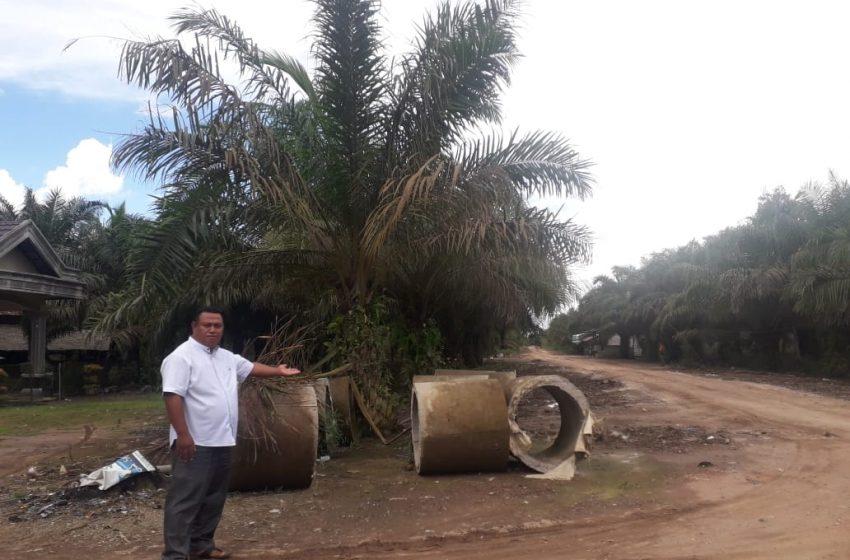 Proyek Gorong-gorong Beton di Desa Sukatani Mangkrak, DPMD Minta Pelaksana Kegiatan Bertanggungjawab