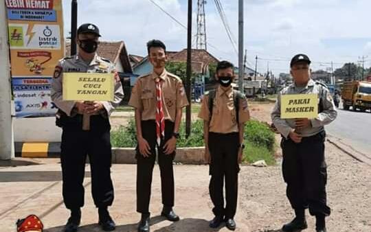 Polsek Pangkalan Balai Terus Gencar Sosialisasikan Protokol Kesehatan