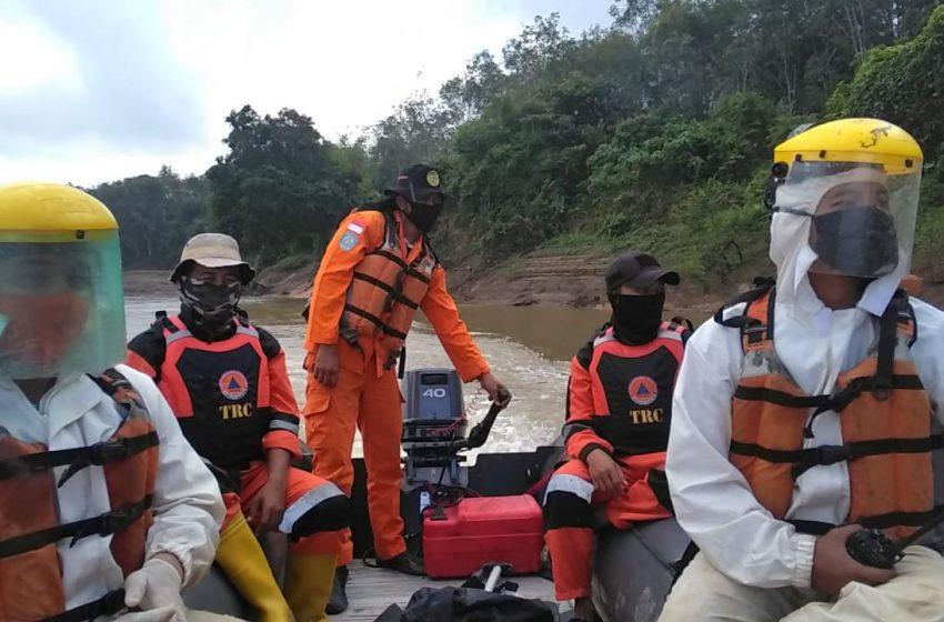 Hari Kelima Pencarian Korban Tenggelam di Sungai Ogan Ogan Ilir