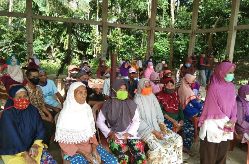PT MAR Antha Graha Bagikan 200 Paket Sembako Kepada Warga Desa Sedang