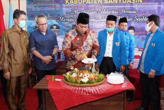Harla KNPI ke – 47, Bupati Askolani : Dibawah Kepemimpinan Ismail Fahmi, KNPI Lebih Maju dan Lebih Solid