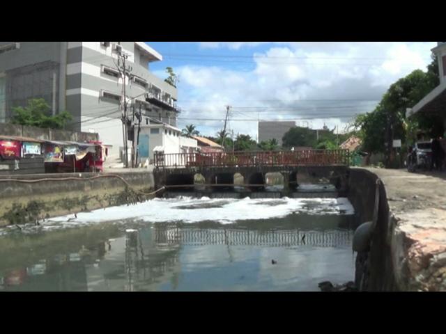 Sungai Sekanak Tercemar