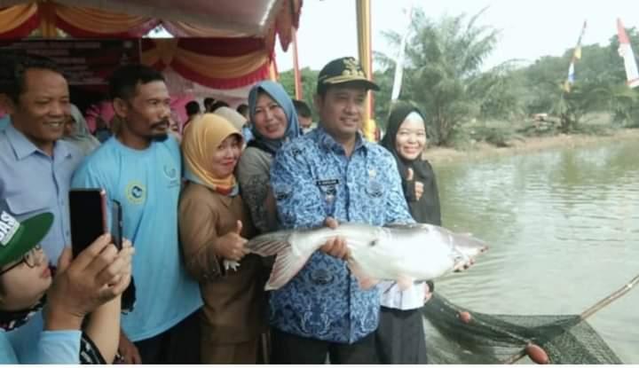 Produksi Ikan Banyuasin Suplai Kebutuhan Ikan Nasional