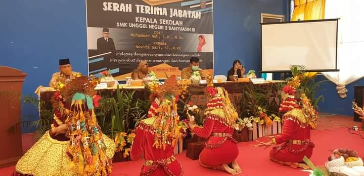 Sertijab Kepsek SMK Unggul Negeri 2 Banyuasin III