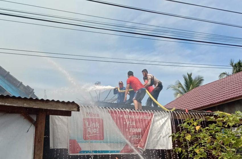 Sijago Merah Mengamuk Satu Rumah Ludes Terbakar