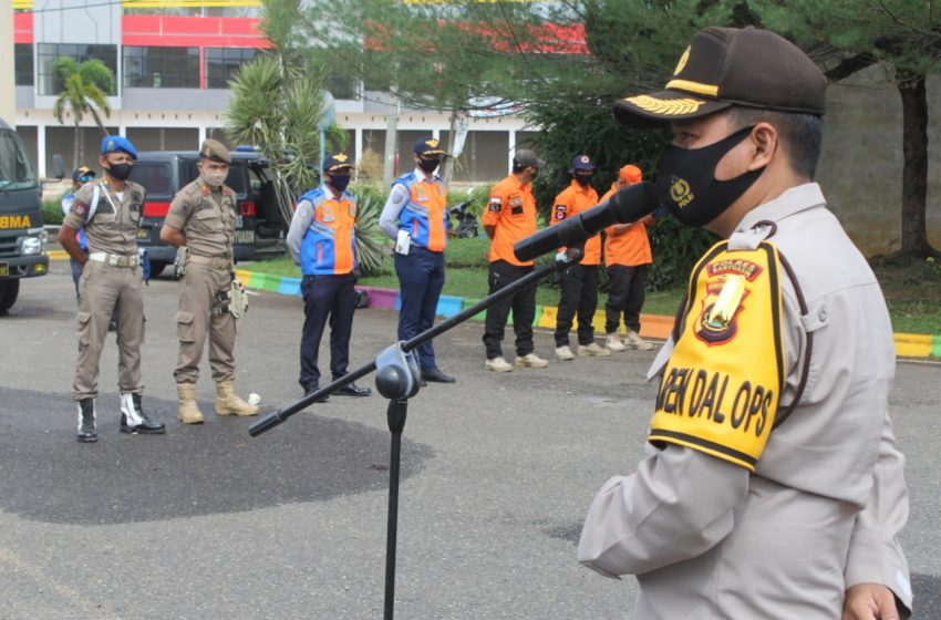 Polres Banyuasin Kampanyekan Serentak Protokol Kesehatan