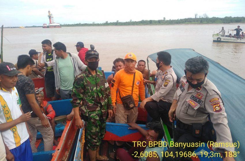 Seorang Korban Speedboat Tenggelam di Musi Banyuasin Ditemukan Meninggal Dunia