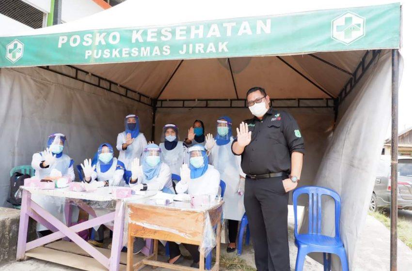 Ratusan Warga Jirak Jaya Jalani Rapid Test dan Swab Antigen