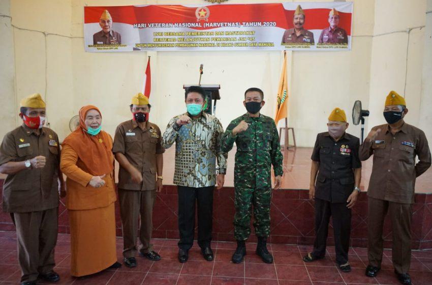 Jemput Pangdam, Herman Deru Datangi Para Veteran