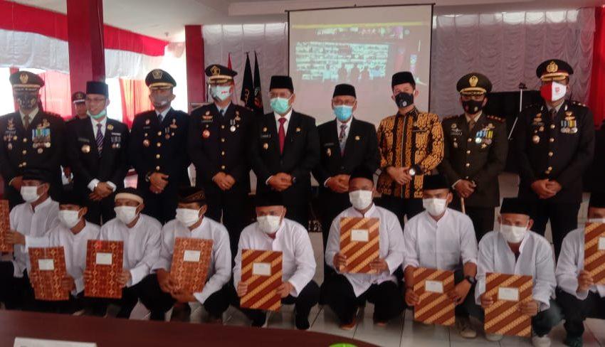 53 Warga Binaan Lapas Kelas II A Banyuasin Bebas Bersyarat