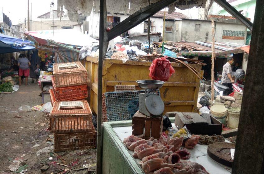 Pasar Pagi Ariodillah Palembang Semrawut