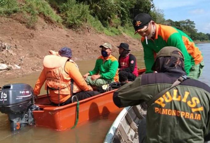 Seorang Warga Hilang, Tenggelam Disungai Musi