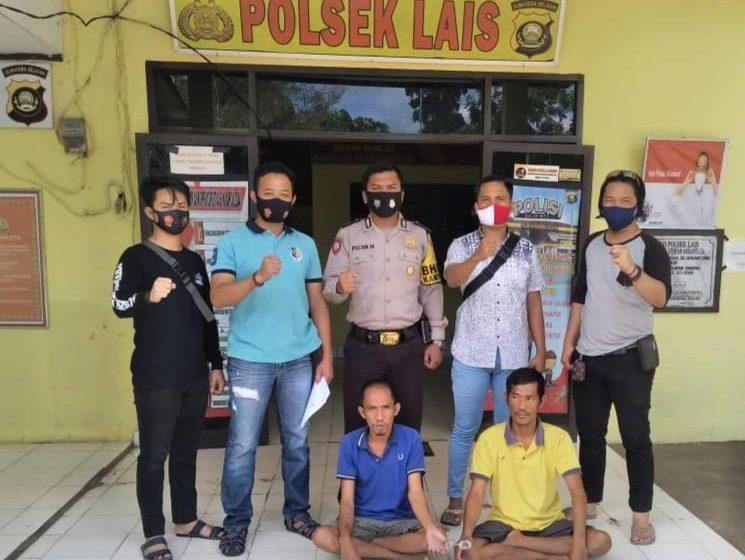 Dua pencuri perahu nelayan diringkus Reskrim Polsek Lais Muba