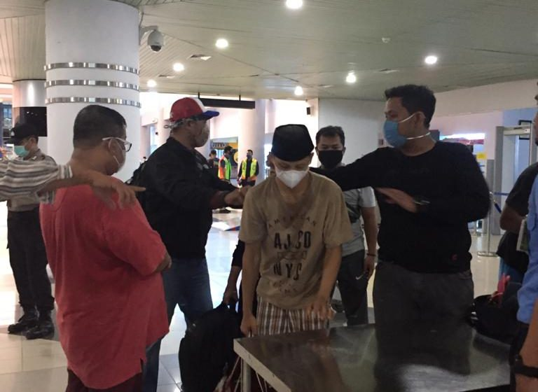 Dn Anggota Dewan, Bandar Sabu Di Terbangkan Ke Jakarta