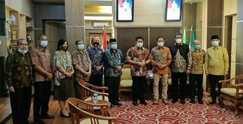 Kepala BPN Silaturahmi dengan Gubernur