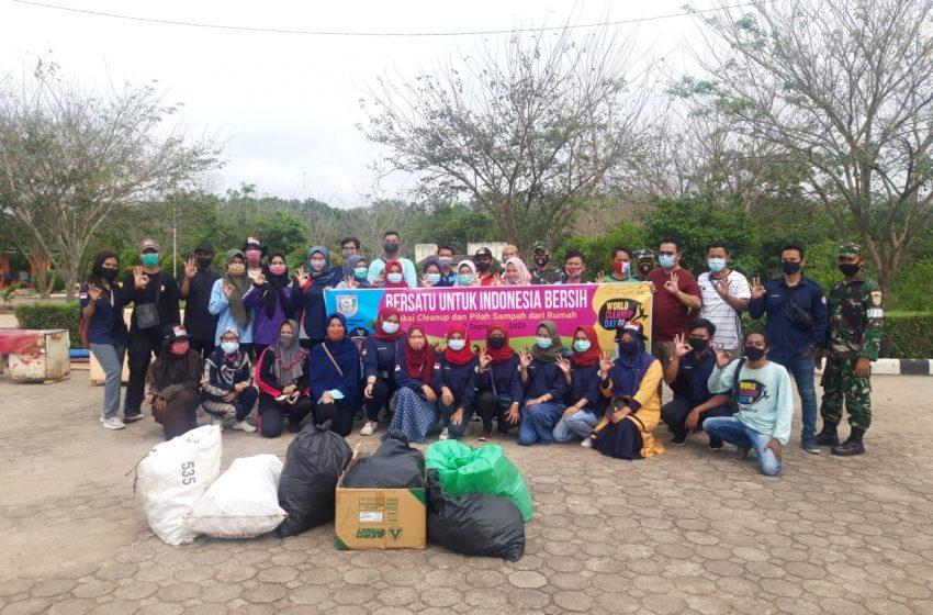 Banyuasin Gelar Aksi Clean Up dan Pilah Sampah
