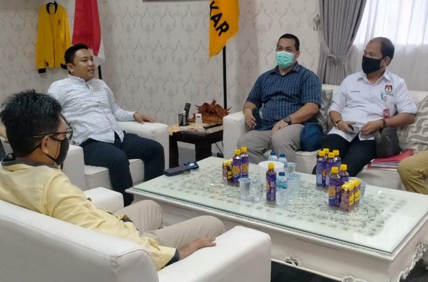 KPU Verifikasi Calon PAW Anggota DPRD Partai Golkar