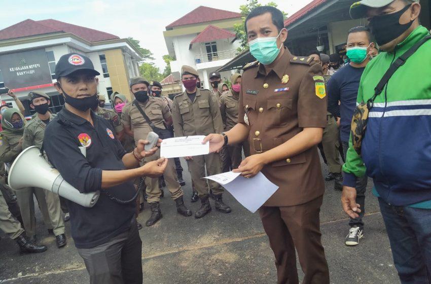 JPKP Banyuasin Desak Kejari Usut Tuntas Pembangunan Jalan Di Sembawa