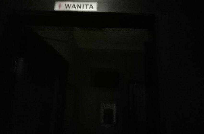 Toilet Wanita DiKantor Walikota Palembang Rusak