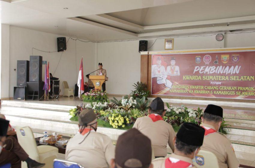 PJS Bupati OKU Hadiri Pembinaan Kwarda Prov Sumsel