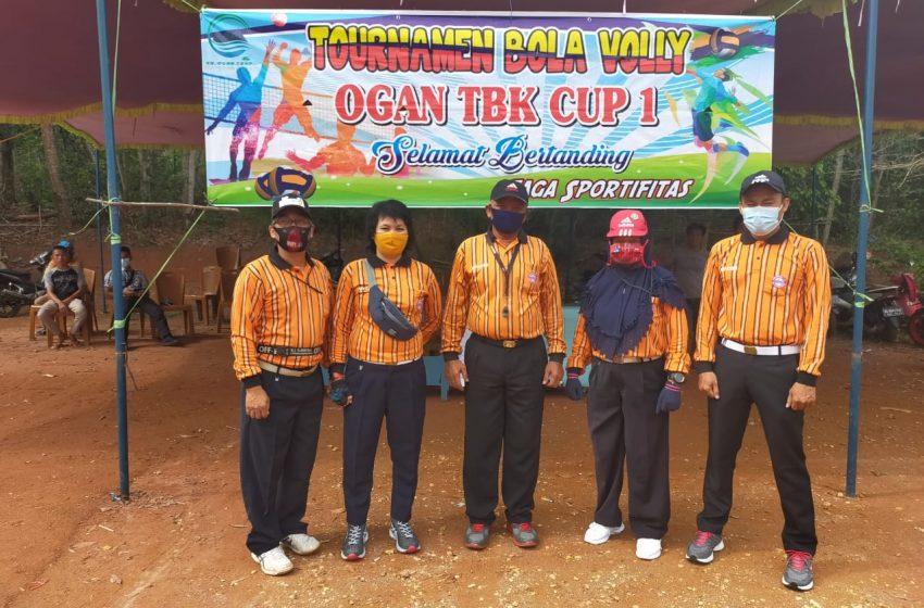 CV Ogan TBK Gelar Turnamen Bola Volly Cup 1
