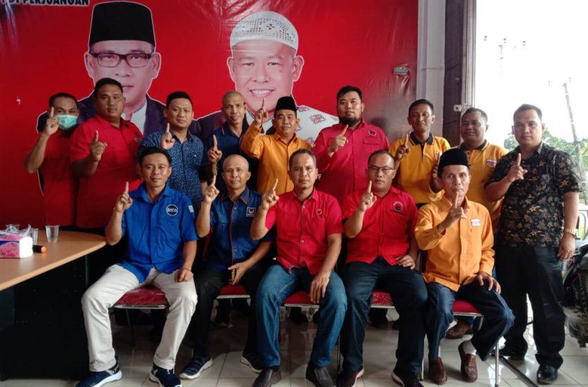 Partai Pengusung HDS-Tullah Rapat Konsolidasi Menangkan Paslon 01