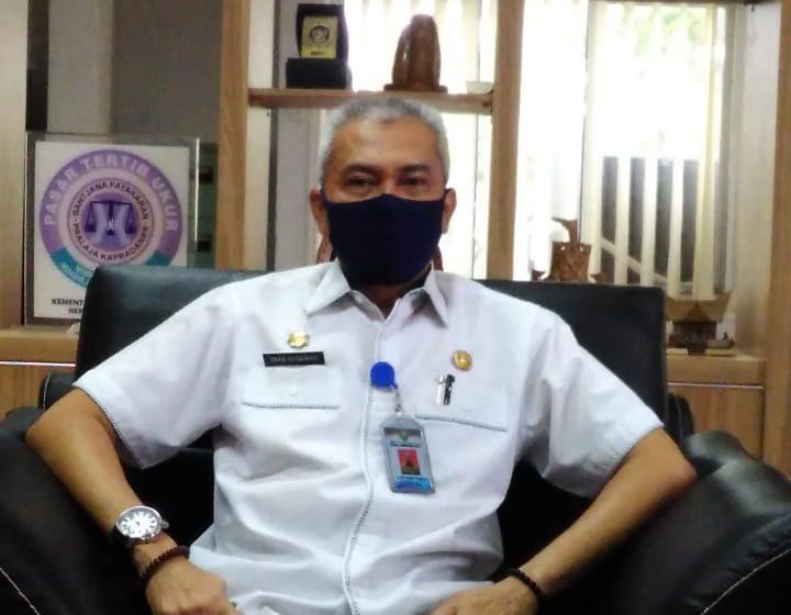 Plt Kepala Dinas Perdagangan Provinsi Sumsel Terpapar Covid 19
