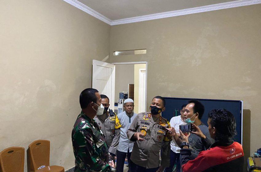 H – 1 Kapolda Sumsel Kunjungi Kandidat Pilkada Muratara