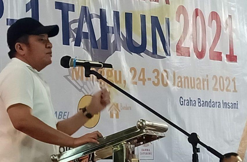 Gubernur Sumsel Buka Kejuaraan Bulutagkis Beregu Elnus Cup 1 Tahun 2021