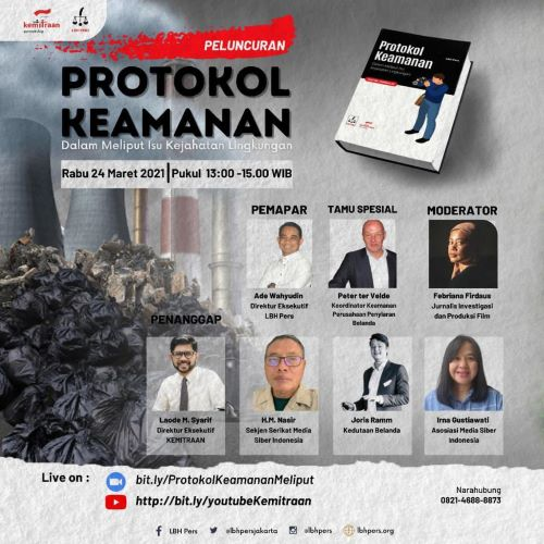 LBH Pers Luncurkan Buku Protokol Keamanan Jurnalis