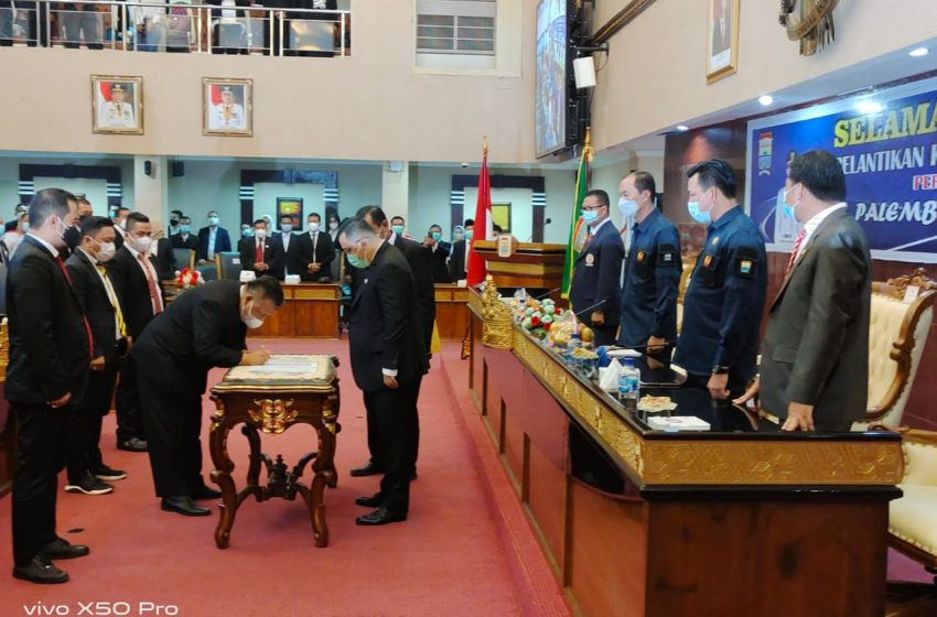 KONI Sumsel Minta Walikota Dukung Tambahan Anggaran KONI Palembang di ABT