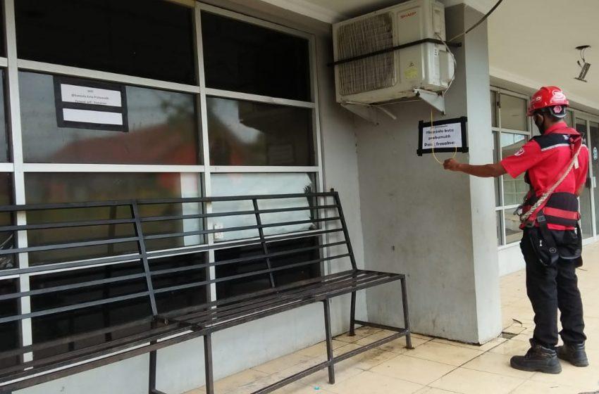 Jaringan WiFi Gratis di Taman Kota Prabujaya Dirusak