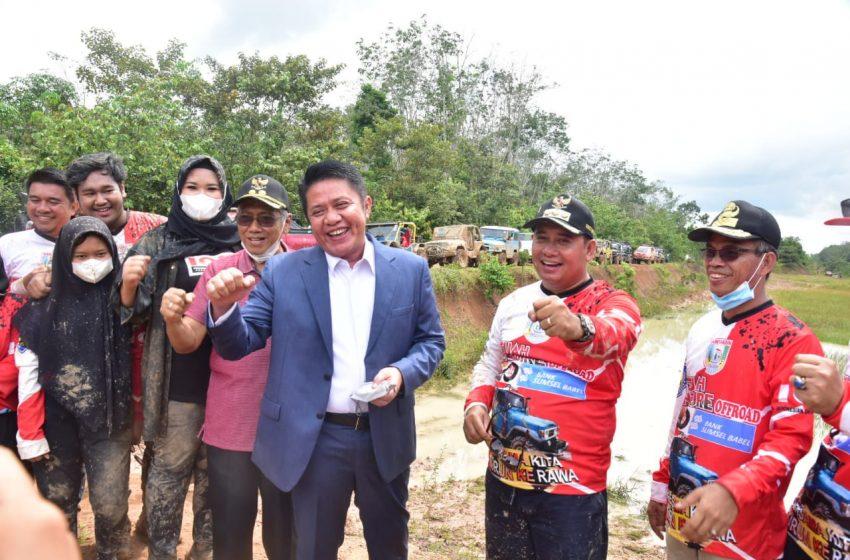 Adventure Off Road VIP Meriahkan Rangkaian HUT ke 19 Banyuasin