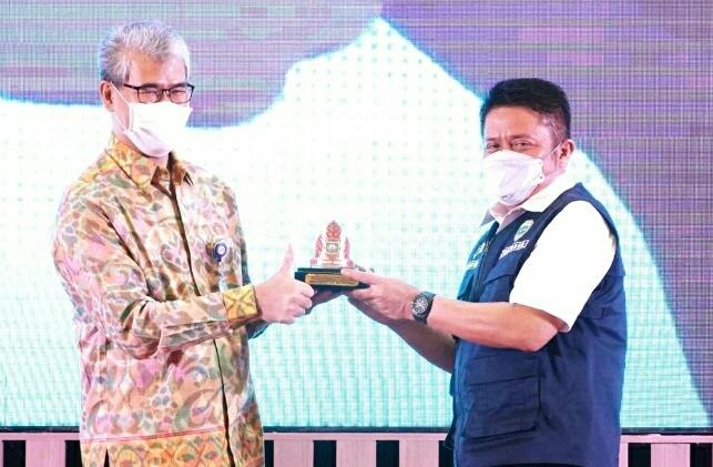Gubernur Sumsel  Herman Deru Apresiasi Kenerja BPKP
