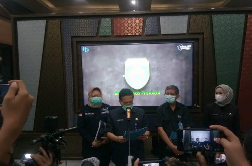 Gubernur Sumsel Keluarkan Surat Pembatasan Kegiatan Masyarakat Terkait Covid-19