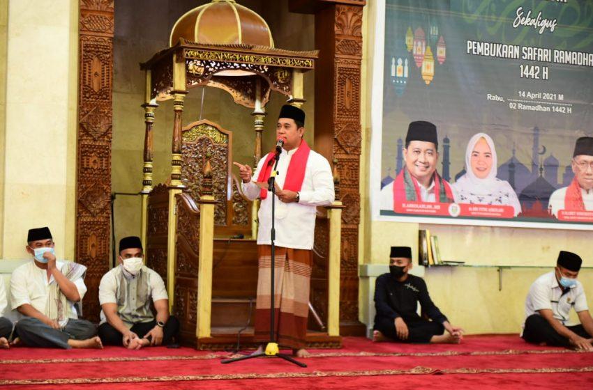 Tertunda Setahun Akibat Covid-19, Banyuasin Kembali Gelar Safari Ramadhan