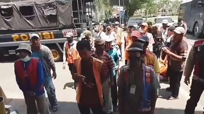 Puluhan Jukir di Palembang Digelandang ke Mapolrestabes