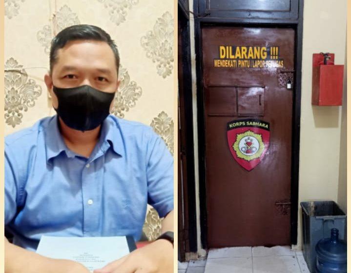 Oknum Komisioner KPAD Banyuasin Diamankan di Polsek Talang Kelapa