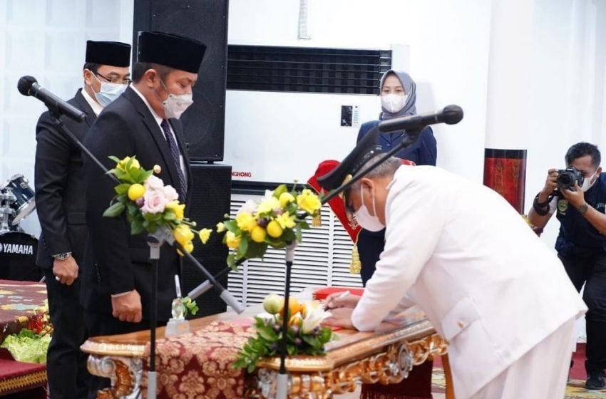 Gubernur Sumsel Lantik Penjabat Bupati PALI
