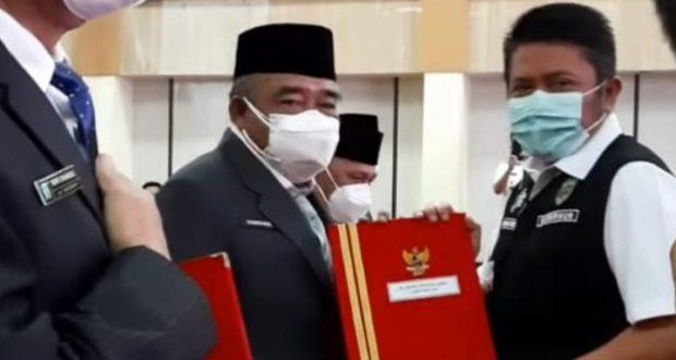 Sekda PALI ditunjuk Gubernur Sebagai Plh Bupati PALI