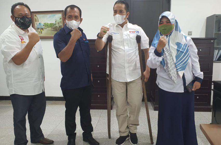 PTBA Dukung Program 100 Gerobak Peduli UMKM Terdampak Covid, Kerjasama SMSI Sumsel dan FSPSS
