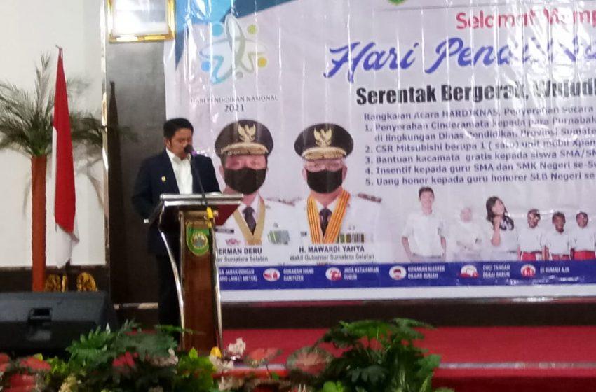 Gubernur Sumsel Sesalkan Sekolah Tatap Muka SD di Banyuasin Tanpa Izin Orang Tua