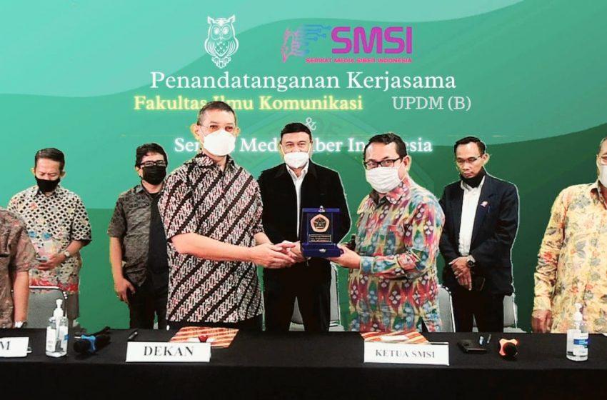 Kerjasama SMSI- UPDM, Perusahaan Pers Pilih UKW Berbasis Undang-Undang Pers