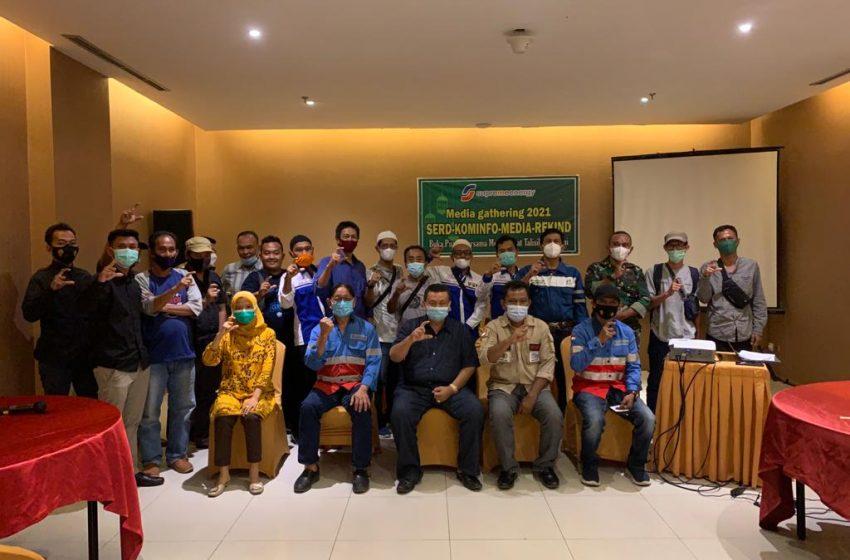 Supreme Energi Rantaj Dedap Gelar Buka Puasa Bersama SMSI dan Kominfo Lahat